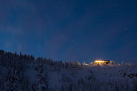 Moonlight Dine and Ski