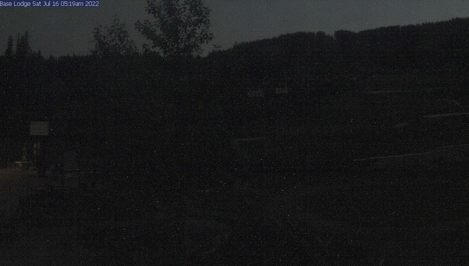 Ski Resort Base Lodge
