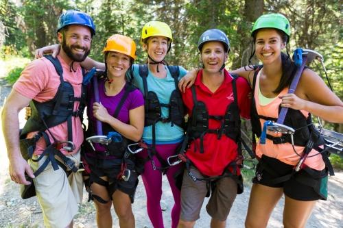 Zip Line at Whitefish Mountain Resort