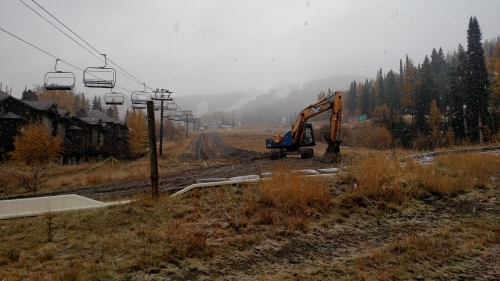 Whitefish Mountain Resort snowmaking