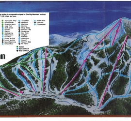 1983/84 Trail Map