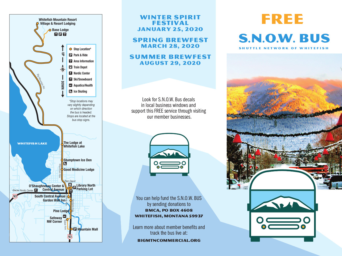 SNOW Bus Map