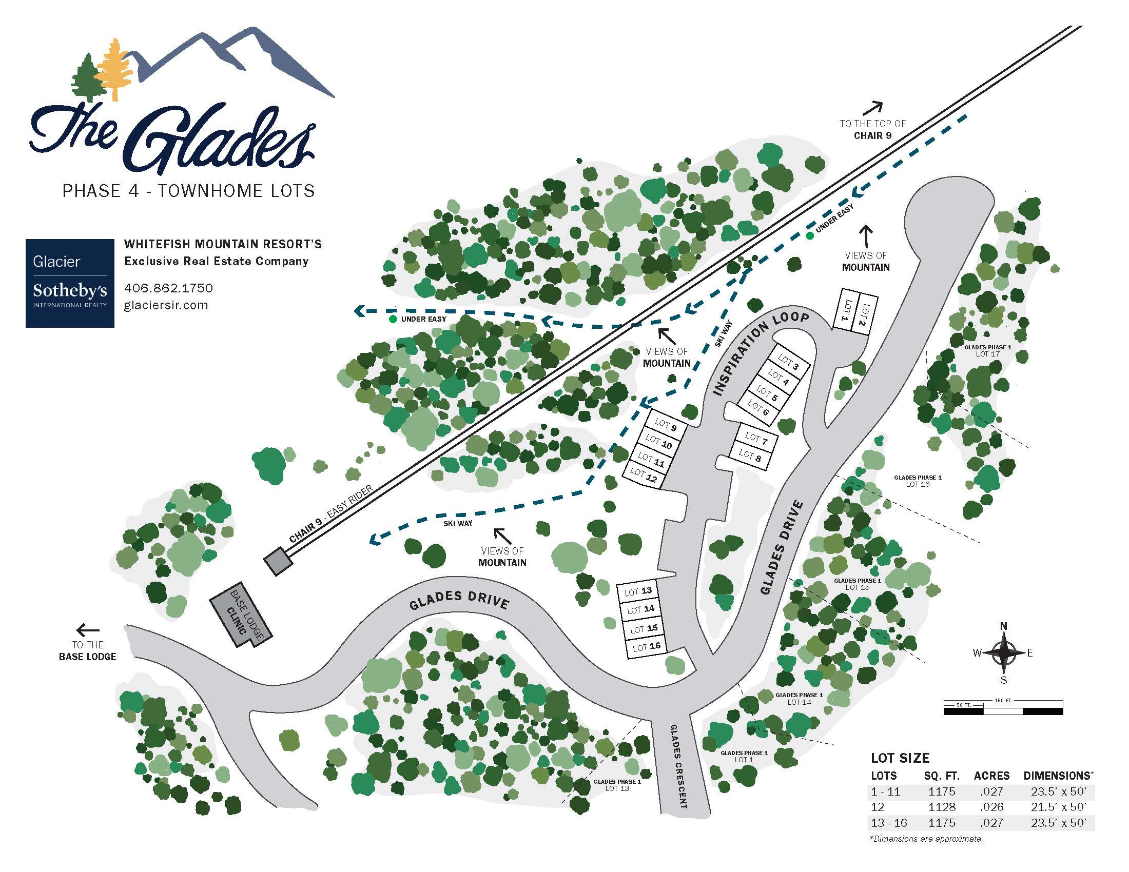 Glades Plat Map