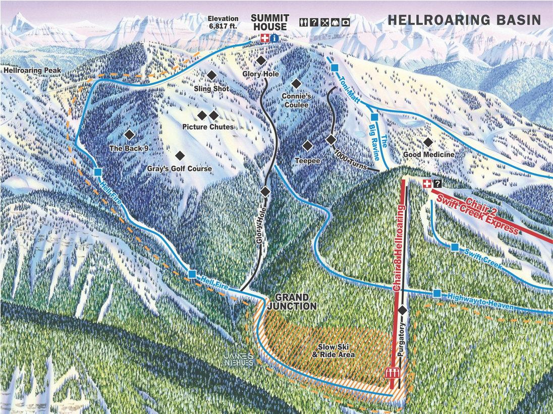 Hellroaring Basin